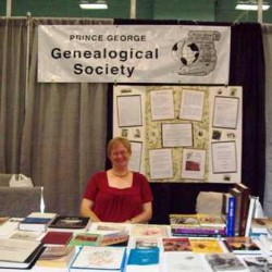 PG Genealogical Society display (PGX 2008)